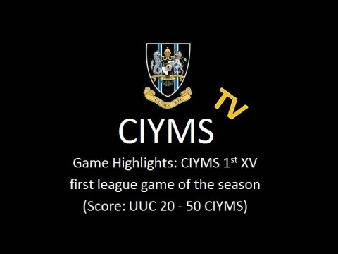 CIYMS TV: Match Highlights CI vs UUC