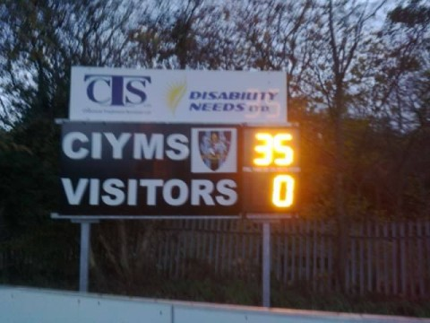 Match Report: 3's a charm for CI