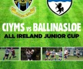 ALL IRELAND JUNIOR CUP: Reserve your spot